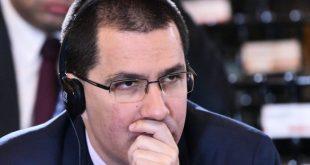 Arreaza acusa a Washington de querer «intervenir» en elecciones parlamentarias