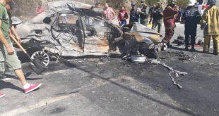 Trágico accidente vial en Barquisimeto con 5 muertos