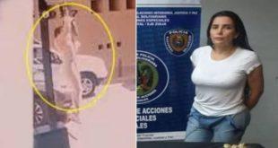 fuga de película de la excongresista colombiana enconchada en Venezuela (Video)