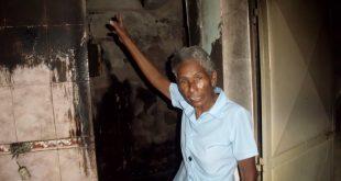 Mal funcionamiento de una bombona en un espacio confinado generó incendio de una vivienda en Morón