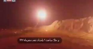 Irán lanzó lluvia de misiles sobre una base norteamericana en Irak