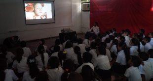 Niños celebran Día del Cine Nacional en Carabobo