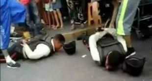 Nueve policías violaron a un preso con un palo de escoba