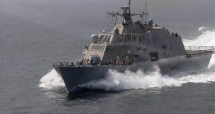 Barcos de guerra norteamericanos ingresaron en aguas venezolanas