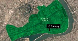 Dos misiles impactaron cerca de la embajada norteamericana en Bagdad (+Video)