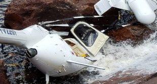 Una persona herida en accidente de helicóptero en el Salto Angel
