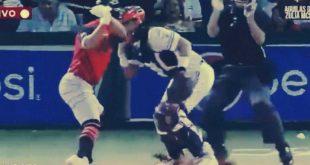 A batazos tangana en el béisbol de la LVBP