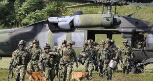 Ejercicios militares de Colombia y USA contra amenazas vecinas