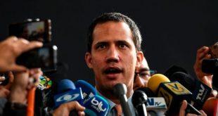 Pese a su prohibición de salir del país Juan Guaidó viajó a Colombia