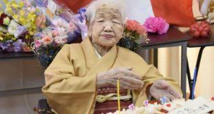 Abuela japonesa cumplió 117 años y revalida récord de mujer más longeva del mundo