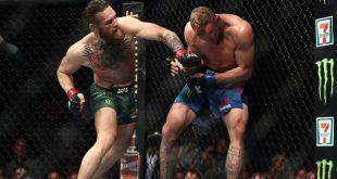 En solo 40 segundos McGregor derrotó a Cerrone