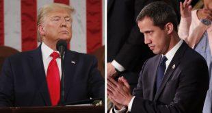 Guaidó y Trump ambos en la Casa Blanca