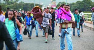 Acnur: Asciende cifra de migrantes venezolanos