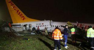 Accidente aéreo con 177 personas en Turquía