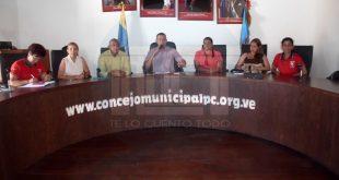 Concejales de Puerto Cabello conmemoraron Rebelión Cívico Militar del 4F con un Acuerdo de Cámara