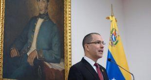 Venezuela condena injerencia de Trump en discurso anual ante el Congreso de EEUU