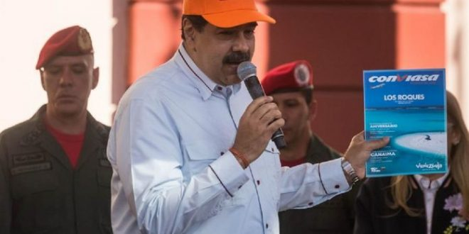 Maduro: La culpa de las sanciones contra Conviasa es de Guaidó