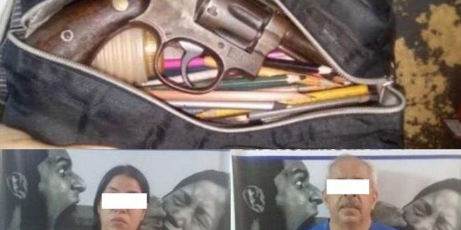 Un Niño llevó un revólver a su colegio en la cartuchera