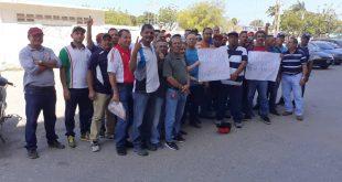 Trabajadores de Vopak reclaman cumplimiento del contrato colectivo