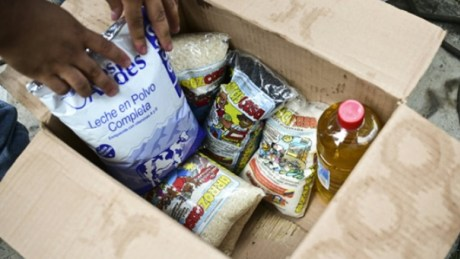 Detenidas cinco personas por sustraer productos de las cajas CLAP durante una jornada en el barrio Ezequiel Zamora