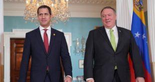 La cita de Guaidó ahora en con Mike Pompeo