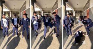 Estudiantes de Guacara resultaron lesionados con nuevo reto en las redes sociales
