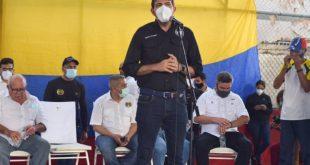 Secretario de organización nacional de AD en Puerto Cabello