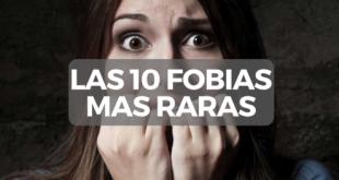 Las 10 Fobias más raras