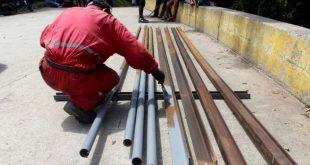 alcaldia repara pasarela de san esteban pueblo