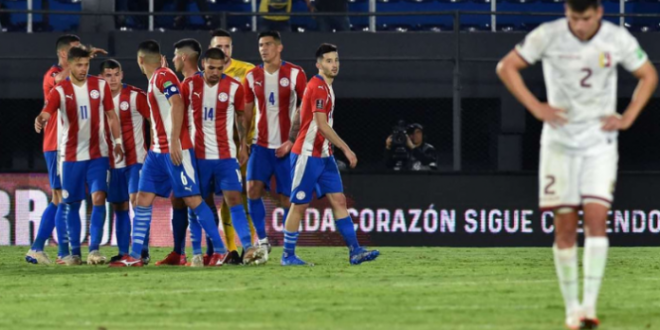 Paraguay vencio a la vinotinto