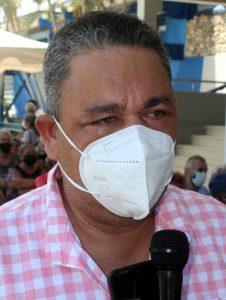 Ramón Rojas, director del Hospital Dr. Adolfo Prince Lara.