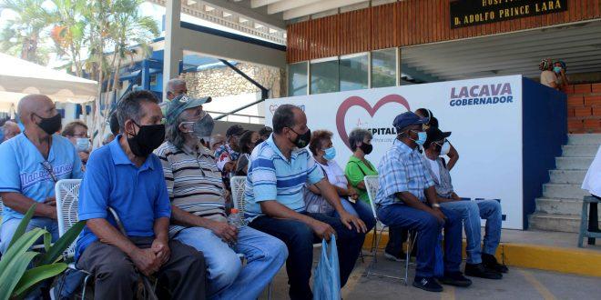 En Puerto Cabello inició vacunación de la segunda dosis de Sputnik-V
