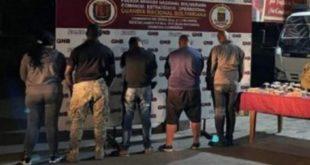 policias de carabobo deyenidos en táchira